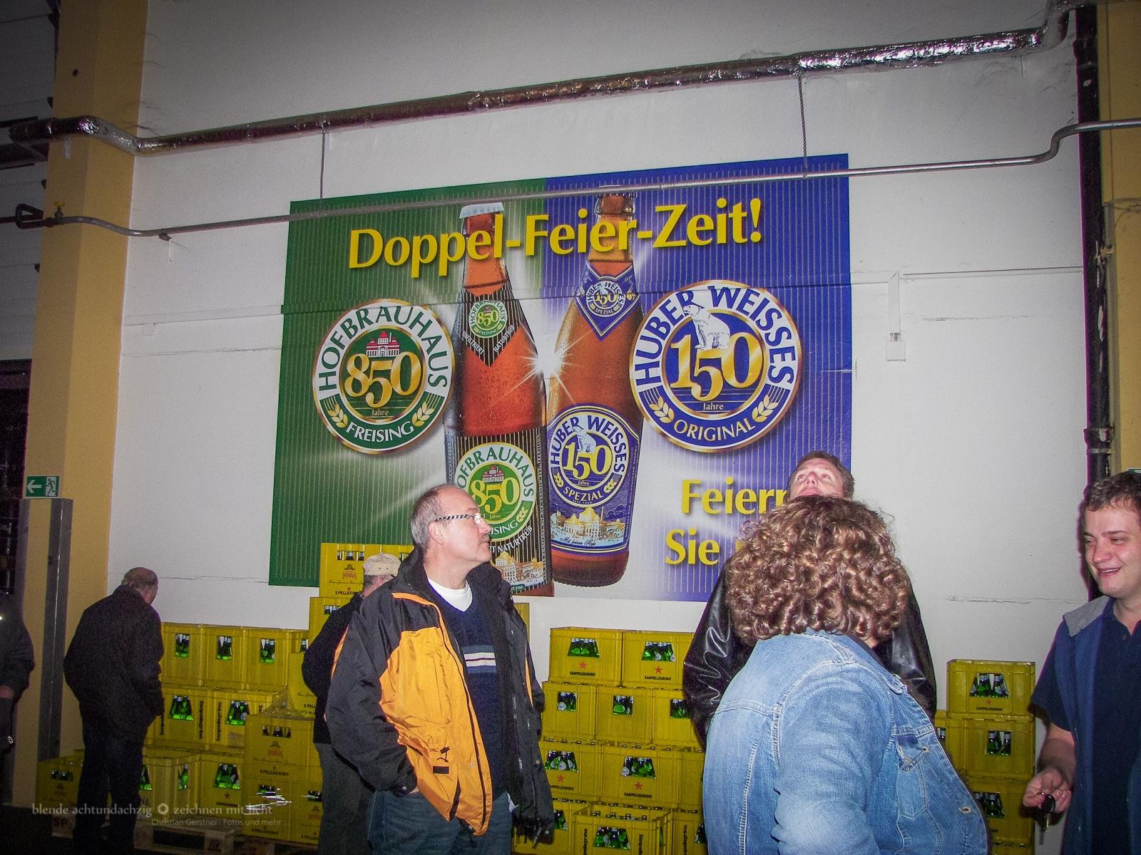 Vereinsausflug zum Hufbrauhaus Freising im November 2010