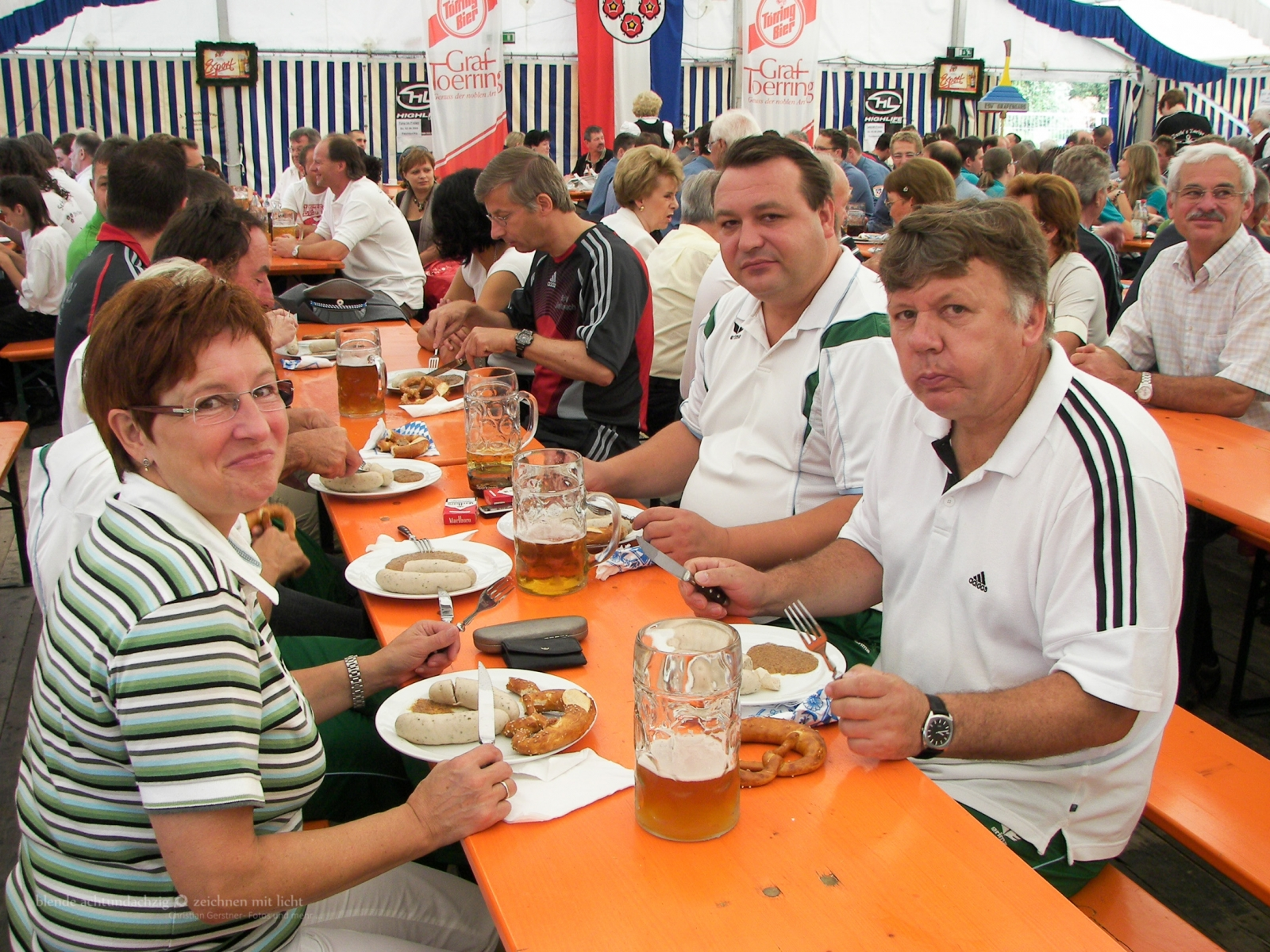 Festumzug - 60-Jahrfeier der SpVgg Jettenbach am 5.7.2009